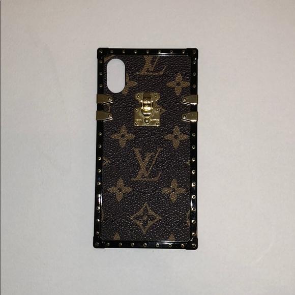 separation shoes c05ca c2d89 Louis Vuitton iPhone X Case